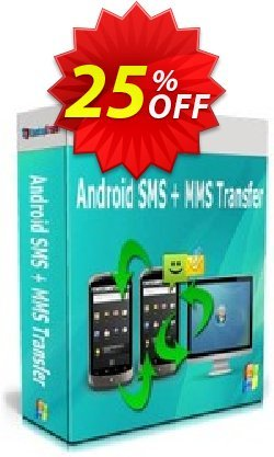 Backuptrans Android SMS + MMS Transfer - Family Edition  Coupon, discount Holiday Deals. Promotion: dreaded sales code of Backuptrans Android SMS + MMS Transfer (Family Edition) 2021