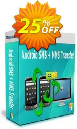 Backuptrans Android SMS + MMS Transfer - Business Edition  Coupon discount Holiday Deals - excellent deals code of Backuptrans Android SMS + MMS Transfer (Business Edition) 2021