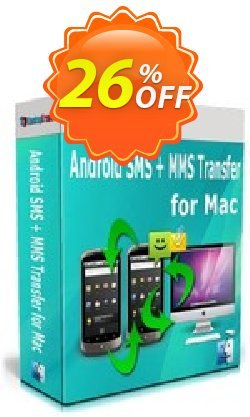 Backuptrans Android SMS + MMS Transfer for Mac Coupon, discount Holiday Deals. Promotion: marvelous offer code of Backuptrans Android SMS + MMS Transfer for Mac (Personal Edition) 2021