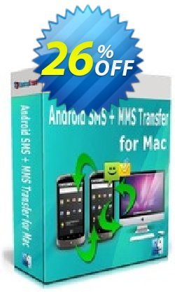 Backuptrans Android SMS + MMS Transfer for Mac - Business Edition  Coupon, discount Holiday Deals. Promotion: awful promo code of Backuptrans Android SMS + MMS Transfer for Mac (Business Edition) 2021