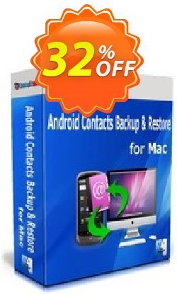 Backuptrans Android Contacts Backup & Restore for Mac - Family Edition  Coupon, discount Backuptrans Android Contacts Backup & Restore for Mac (Family Edition) formidable discount code 2021. Promotion: impressive offer code of Backuptrans Android Contacts Backup & Restore for Mac (Family Edition) 2021