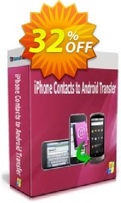 Backuptrans iPhone Contacts to Android Transfer - One-Time Usage  Coupon, discount Backuptrans iPhone Contacts to Android Transfer (One-Time Usage) super promo code 2021. Promotion: amazing discount code of Backuptrans iPhone Contacts to Android Transfer (One-Time Usage) 2021