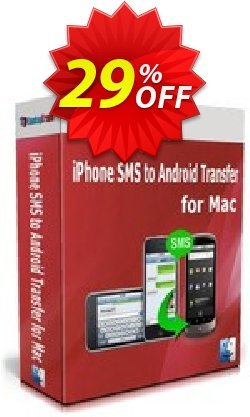 Backuptrans iPhone SMS to Android Transfer for Mac - One-Time Usage  Coupon discount Backuptrans iPhone SMS to Android Transfer for Mac (One-Time Usage) wondrous sales code 2020 - marvelous promotions code of Backuptrans iPhone SMS to Android Transfer for Mac (One-Time Usage) 2020