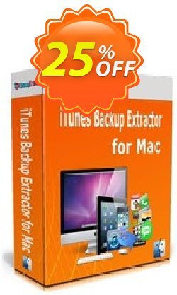 Backuptrans iTunes Backup Extractor for Mac - Family Edition  Coupon, discount Backuptrans iTunes Backup Extractor for Mac (Family Edition) staggering discount code 2021. Promotion: stunning offer code of Backuptrans iTunes Backup Extractor for Mac (Family Edition) 2021