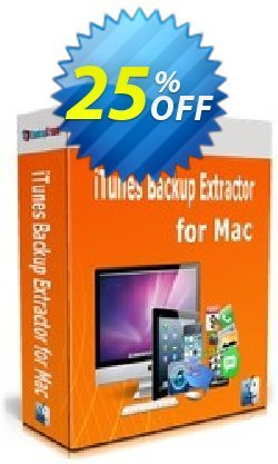 Backuptrans iTunes Backup Extractor for Mac - Business Edition  Coupon, discount Backuptrans iTunes Backup Extractor for Mac (Business Edition) imposing promo code 2021. Promotion: staggering discount code of Backuptrans iTunes Backup Extractor for Mac (Business Edition) 2021