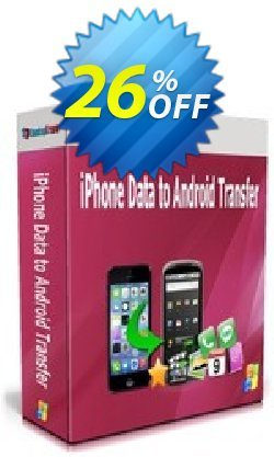 Backuptrans iPhone Data to Android Transfer (Personal Edition) Coupon, discount Backuptrans iPhone Data to Android Transfer (Personal Edition) dreaded promo code 2019. Promotion: fearsome discount code of Backuptrans iPhone Data to Android Transfer (Personal Edition) 2019