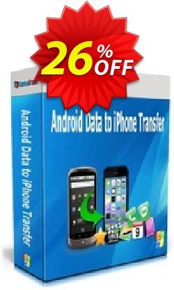 Backuptrans Android Data to iPhone Transfer Coupon, discount Backuptrans Android Data to iPhone Transfer (Personal Edition) wondrous sales code 2021. Promotion: marvelous promotions code of Backuptrans Android Data to iPhone Transfer (Personal Edition) 2021