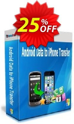 Backuptrans Android Data to iPhone Transfer - Family Edition  Coupon, discount Backuptrans Android Data to iPhone Transfer (Family Edition) awful deals code 2021. Promotion: wondrous sales code of Backuptrans Android Data to iPhone Transfer (Family Edition) 2021