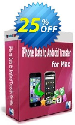 Backuptrans iPhone Data to Android Transfer for Mac Coupon, discount Backuptrans iPhone Data to Android Transfer for Mac (Personal Edition) amazing discounts code 2021. Promotion: wonderful promo code of Backuptrans iPhone Data to Android Transfer for Mac (Personal Edition) 2021