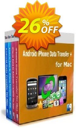 Backuptrans Android iPhone Data Transfer + for Mac Coupon, discount Holiday Deals. Promotion: impressive discount code of Backuptrans Android iPhone Data Transfer + for Mac (Personal Edition) 2021