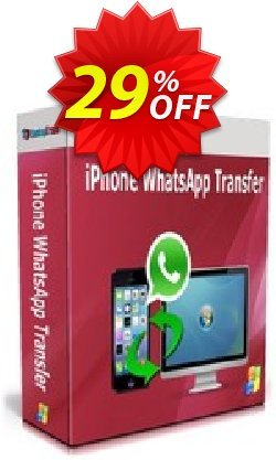 Backuptrans iPhone WhatsApp Transfer Coupon, discount Backuptrans iPhone WhatsApp Transfer (Personal Edition) wondrous sales code 2021. Promotion: marvelous promotions code of Backuptrans iPhone WhatsApp Transfer (Personal Edition) 2021