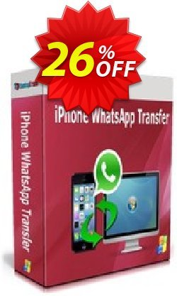 Backuptrans iPhone WhatsApp Transfer - Family Edition  Coupon, discount Backuptrans iPhone WhatsApp Transfer (Family Edition) awful deals code 2021. Promotion: wondrous sales code of Backuptrans iPhone WhatsApp Transfer (Family Edition) 2021
