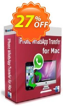 Backuptrans iPhone WhatsApp Transfer for Mac Coupon, discount Backuptrans iPhone WhatsApp Transfer for Mac (Personal Edition) amazing discount code 2021. Promotion: awful offer code of Backuptrans iPhone WhatsApp Transfer for Mac (Personal Edition) 2021