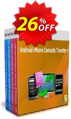 Backuptrans Android iPhone Contacts Transfer Coupon, discount Holiday Deals. Promotion: hottest sales code of Backuptrans Android iPhone Contacts Transfer + (Personal Edition) 2021