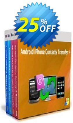 Backuptrans Android iPhone Contacts Transfer + - Business Edition  Coupon discount Holiday Deals - exclusive offer code of Backuptrans Android iPhone Contacts Transfer + (Business Edition) 2021