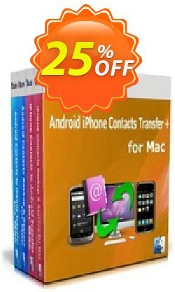 Backuptrans Android iPhone Contacts Transfer + for Mac Coupon, discount Holiday Deals. Promotion: awesome discount code of Backuptrans Android iPhone Contacts Transfer + for Mac (Personal Edition) 2021
