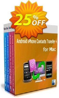 Backuptrans Android iPhone Contacts Transfer + for Mac - Business Edition  Coupon, discount Holiday Deals. Promotion: amazing discounts code of Backuptrans Android iPhone Contacts Transfer + for Mac (Business Edition) 2021