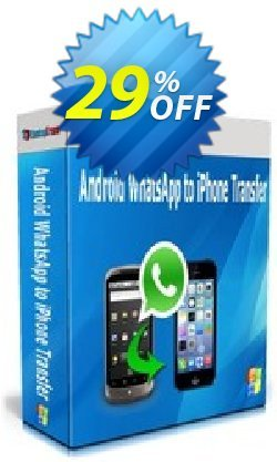Backuptrans Android WhatsApp to iPhone Transfer Coupon discount Backuptrans Android WhatsApp to iPhone Transfer (Personal Edition) excellent discount code 2020 - dreaded offer code of Backuptrans Android WhatsApp to iPhone Transfer (Personal Edition) 2020