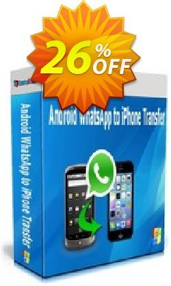 Backuptrans Android WhatsApp to iPhone Transfer - Family Edition  Coupon discount Backuptrans Android WhatsApp to iPhone Transfer (Family Edition) marvelous promo code 2021 - excellent discount code of Backuptrans Android WhatsApp to iPhone Transfer (Family Edition) 2021