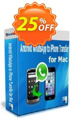 Backuptrans Android WhatsApp to iPhone Transfer for Mac (Business Edition) Coupon, discount Backuptrans Android WhatsApp to iPhone Transfer for Mac (Business Edition) amazing deals code 2019. Promotion: awful sales code of Backuptrans Android WhatsApp to iPhone Transfer for Mac (Business Edition) 2019