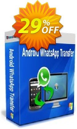 Backuptrans Android WhatsApp Transfer Coupon, discount Backuptrans Android WhatsApp Transfer(Personal Edition) exclusive offer code 2021. Promotion: special deals code of Backuptrans Android WhatsApp Transfer(Personal Edition) 2021