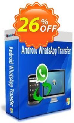 Backuptrans Android WhatsApp Transfer - Family Edition  Coupon, discount Backuptrans Android WhatsApp Transfer(Family Edition) awesome discount code 2021. Promotion: exclusive offer code of Backuptrans Android WhatsApp Transfer(Family Edition) 2021