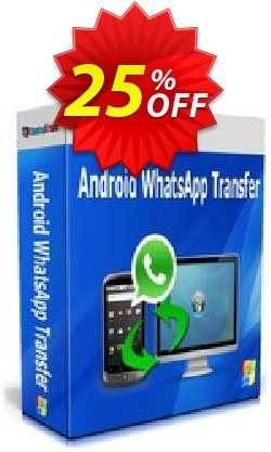 Backuptrans Android WhatsApp Transfer - Business Edition  Coupon, discount Backuptrans Android WhatsApp Transfer(Business Edition) wonderful promo code 2021. Promotion: awesome discount code of Backuptrans Android WhatsApp Transfer(Business Edition) 2021
