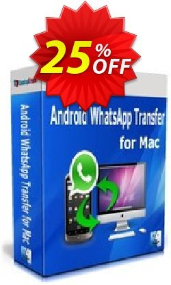Backuptrans Android WhatsApp Transfer for Mac - Business Edition  Coupon, discount Backuptrans Android WhatsApp Transfer for Mac(Business Edition) staggering sales code 2021. Promotion: stunning promotions code of Backuptrans Android WhatsApp Transfer for Mac(Business Edition) 2021
