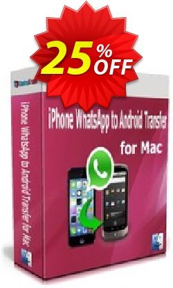 Backuptrans iPhone WhatsApp to Android Transfer for Mac - Family Edition  Coupon discount Backuptrans iPhone WhatsApp to Android Transfer for Mac(Family Edition) fearsome discounts code 2021 - formidable promo code of Backuptrans iPhone WhatsApp to Android Transfer for Mac(Family Edition) 2021
