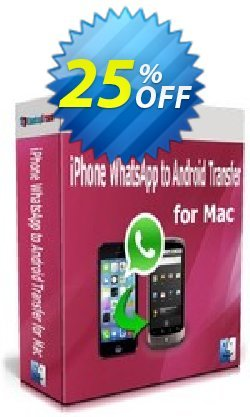 Backuptrans iPhone WhatsApp to Android Transfer for Mac - Business Edition  Coupon discount Backuptrans iPhone WhatsApp to Android Transfer for Mac(Business Edition) dreaded promotions code 2021 - fearsome discounts code of Backuptrans iPhone WhatsApp to Android Transfer for Mac(Business Edition) 2021