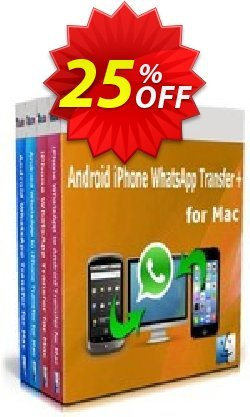 Backuptrans Android iPhone WhatsApp Transfer plus for Mac - Family Edition  Coupon, discount Holiday Deals. Promotion: awful discount code of Backuptrans Android iPhone WhatsApp Transfer + for Mac(Family Edition) 2021