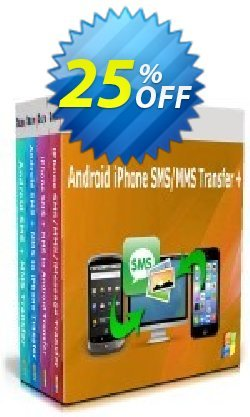 Backuptrans Android iPhone SMS/MMS Transfer plus Coupon discount Holiday Deals. Promotion: special discounts code of Backuptrans Android iPhone SMS/MMS Transfer + (Personal Edition) 2021