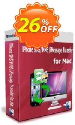 Backuptrans iPhone SMS/MMS/iMessage Transfer for Mac Coupon discount Backuptrans iPhone SMS/MMS/iMessage Transfer for Mac (Personal Edition) awful deals code 2020. Promotion: awful sales code of Backuptrans iPhone SMS/MMS/iMessage Transfer for Mac (Personal Edition) 2020