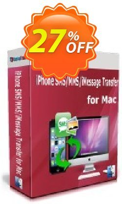 Backuptrans iPhone SMS/MMS/iMessage Transfer for Mac - Family Edition  Coupon discount Backuptrans iPhone SMS/MMS/iMessage Transfer for Mac (Family Edition) special sales code 2021. Promotion: hottest promotions code of Backuptrans iPhone SMS/MMS/iMessage Transfer for Mac (Family Edition) 2021