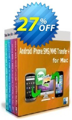 Backuptrans Android iPhone SMS/MMS Transfer plus for Mac Coupon discount Back to School Discount - staggering promotions code of Backuptrans Android iPhone SMS/MMS Transfer + for Mac (Personal Edition) 2021