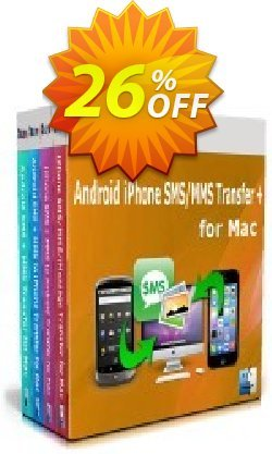 Backuptrans Android iPhone SMS/MMS Transfer plus for Mac - Family Edition  Coupon discount Holiday Deals - imposing sales code of Backuptrans Android iPhone SMS/MMS Transfer + for Mac (Family Edition) 2021