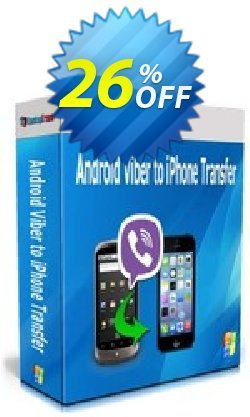 Backuptrans Android Viber to iPhone Transfer - Family Edition  Coupon discount Backuptrans Android Viber to iPhone Transfer (Family Edition) staggering discount code 2021 - stunning offer code of Backuptrans Android Viber to iPhone Transfer (Family Edition) 2021