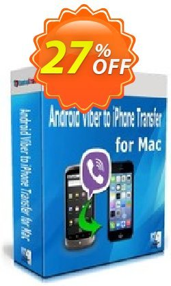 Backuptrans Android Viber to iPhone Transfer for Mac Coupon discount Backuptrans Android Viber to iPhone Transfer for Mac (Personal Edition) stirring discounts code 2021 - imposing promo code of Backuptrans Android Viber to iPhone Transfer for Mac (Personal Edition) 2021