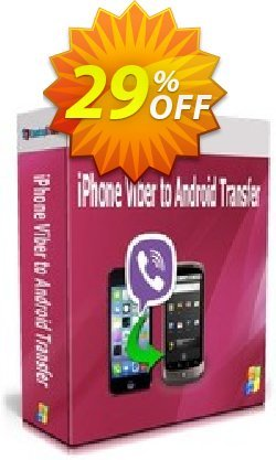 Backuptrans iPhone Viber to Android Transfer Coupon discount Backuptrans iPhone Viber to Android Transfer (Personal Edition) fearsome deals code 2021 - formidable sales code of Backuptrans iPhone Viber to Android Transfer (Personal Edition) 2021