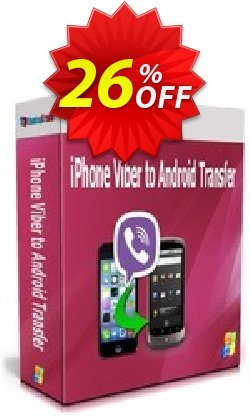 Backuptrans iPhone Viber to Android Transfer - Family Edition  Coupon discount Backuptrans iPhone Viber to Android Transfer (Family Edition) dreaded offer code 2021. Promotion: fearsome deals code of Backuptrans iPhone Viber to Android Transfer (Family Edition) 2021