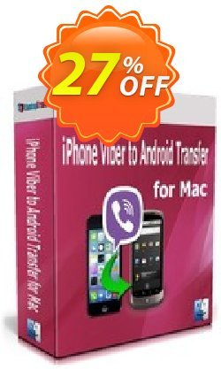 Backuptrans iPhone Viber to Android Transfer for Mac Coupon discount Backuptrans iPhone Viber to Android Transfer for Mac (Personal Edition) marvelous promo code 2021 - excellent discount code of Backuptrans iPhone Viber to Android Transfer for Mac (Personal Edition) 2021