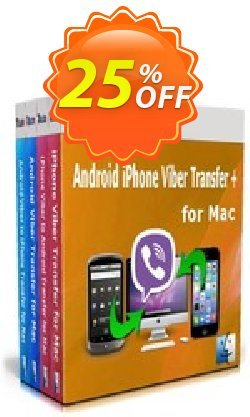 Backuptrans Android iPhone Viber Transfer + for Mac - Family Edition  Coupon discount Holiday Deals - best discount code of Backuptrans Android iPhone Viber Transfer + for Mac (Family Edition) 2020