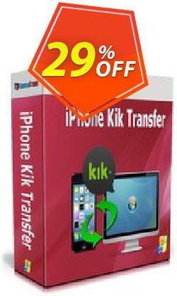 Backuptrans iPhone Kik Transfer Coupon, discount Backuptrans iPhone Kik Transfer (Personal Edition) amazing promo code 2020. Promotion: wonderful discount code of Backuptrans iPhone Kik Transfer (Personal Edition) 2020