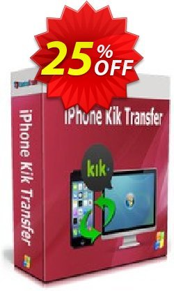 Backuptrans iPhone Kik Transfer - Business Edition  Coupon, discount Backuptrans iPhone Kik Transfer (Business Edition) staggering promotions code 2020. Promotion: stunning discounts code of Backuptrans iPhone Kik Transfer (Business Edition) 2020