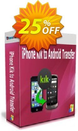 Backuptrans iPhone Kik to Android Transfer - Business Edition  Coupon discount Backuptrans iPhone Kik to Android Transfer (Business Edition) wondrous promotions code 2020 - marvelous discounts code of Backuptrans iPhone Kik to Android Transfer (Business Edition) 2020