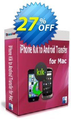 Backuptrans iPhone Kik to Android Transfer for Mac Coupon discount Backuptrans iPhone Kik to Android Transfer for Mac (Personal Edition) awful sales code 2020 - wondrous promotions code of Backuptrans iPhone Kik to Android Transfer for Mac (Personal Edition) 2020