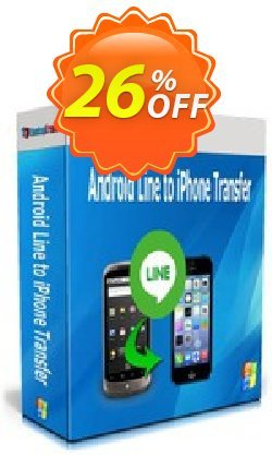 Backuptrans Android Line to iPhone Transfer - Family Edition  Coupon, discount Backuptrans Android Line to iPhone Transfer (Family Edition) awful promotions code 2021. Promotion: awful discounts code of Backuptrans Android Line to iPhone Transfer (Family Edition) 2021