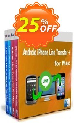 Backuptrans Android iPhone Line Transfer plus for Mac - Family Edition  Coupon discount Holiday Deals - wondrous promotions code of Backuptrans Android iPhone Line Transfer + for Mac (Family Edition) 2020