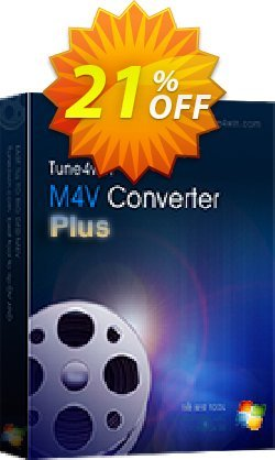 Tune4Win M4V Converter Plus for Windows Coupon, discount Tune4Win M4V Converter Plus for Windows awesome discounts code 2019. Promotion: awesome discounts code of Tune4Win M4V Converter Plus for Windows 2019