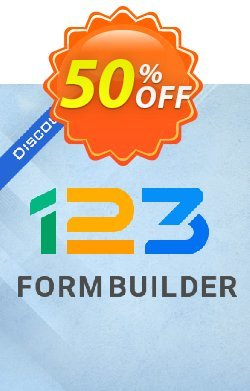 123FormBuilder Gold Coupon discount Default Affiliate PROMO - awful discount code of 123FormBuilder Gold Plan -- yearly subscription 2020